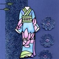 Blue Kimono by Karen Swemba