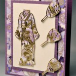 Purple Floral Kimono by Karen Swemba