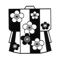 HJ124 Plum KimonoStamp