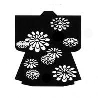 HJ125 Chrysanthemum Kimono Stamp