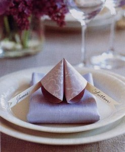 Fortune Cookie Place Card
