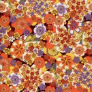 RA4528 Orange Sakura Splendor Washi