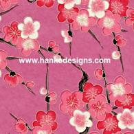 RCUme Pink Plum Blossom Splash Washi