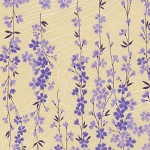 RKAW10477 Lavender Sakura Vines Washi