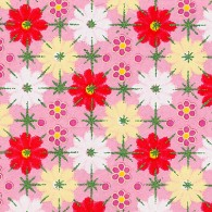 RKB7176 Red Springtime Fun Washi