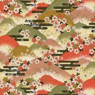 RKB8525 Fall Floral Hills Washi