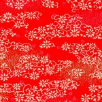 RTB9396 Red Floral Field