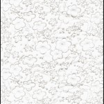 RCWhitePlum Silver White Plum Washi - Hanko Designs