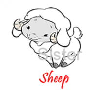 10 130201 Sheep Sister Stamps