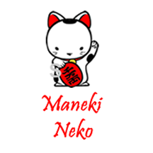 SS0032 Maneki Neko Cat Sister Stamp