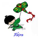 12 130401 Akira Sister Stamps