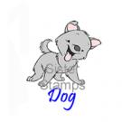 12 130401 Dog Sister Stamps