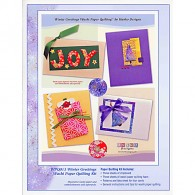 WPQ-013 Winter Greetings Washi Paper Quilting Kit