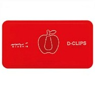 apple Macintosh D-Clips - Paper Clips - d-clip - dclips dclip d-clips - www.HankoDesigns.com