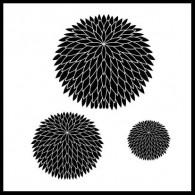 CH171 HG171 Full Mum chrysanthemum stamp set