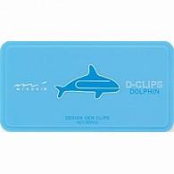 Dolphin Porpoise D-Clips - Paper Clips - d-clip - dclips dclip d-clips - www.HankoDesigns.com