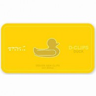 SD001 Duck D-Clips - Paper Clips - from Hanko Designs