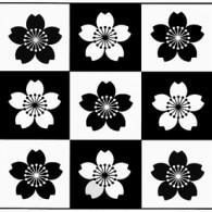 HK115 BlossomIng Square Hanko Designs Stamp