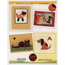WPQ-009 Friends Washi Paper Quilting Kit