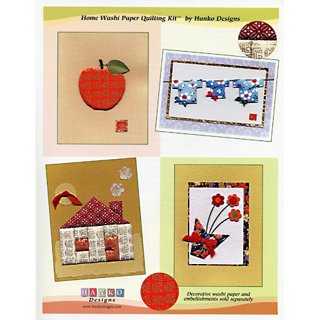 WPQ-010 Home Washi Paper Quilting Kit
