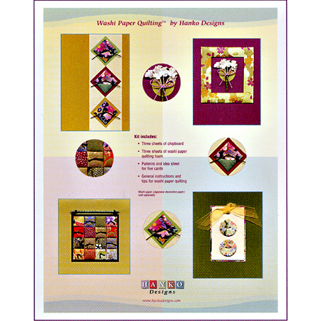 WPQ-006 Basic Washi Paper Quilting Kit