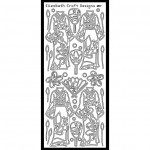SRS2517 Kimono Peel-Off Sticker - www.HankoDesigns.com