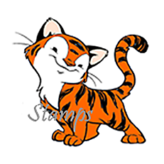 Year of the Tiger - Sister Stamps - www.SisterStamps.com