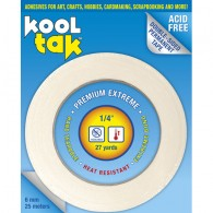 "1/4"" Kool Tak Tape .25 - 6mm"