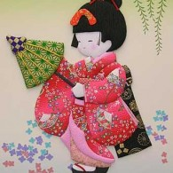 Oishie - Washi Paper Quilting - www.HankoDesigns.com
