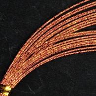 MHN194 Red Nishiki Mizuhiki Paper Cord - Hanko Designs - www.HankoDesigns.com