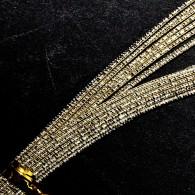 MHN201 Champagne Gold Nishiki Mizuhiki Paper Cord - Hanko Designs - www.HankoDesigns.com