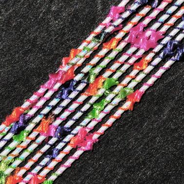 MHF502 Fleur Mizuhiki Cord - Designer Mizuhiki Cord - www.HankoDesigns.com