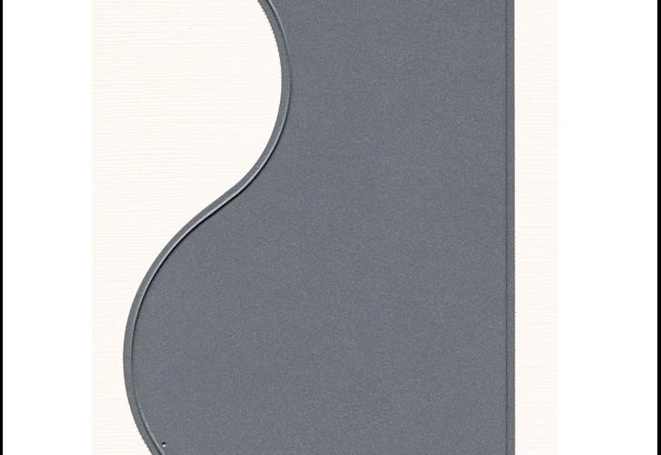 DD011 Design Panel Curve Metal Cutting Die - Hanko Designs - www.HankoDesigns.com