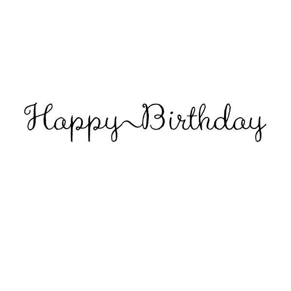 HE178 Happy Birthday