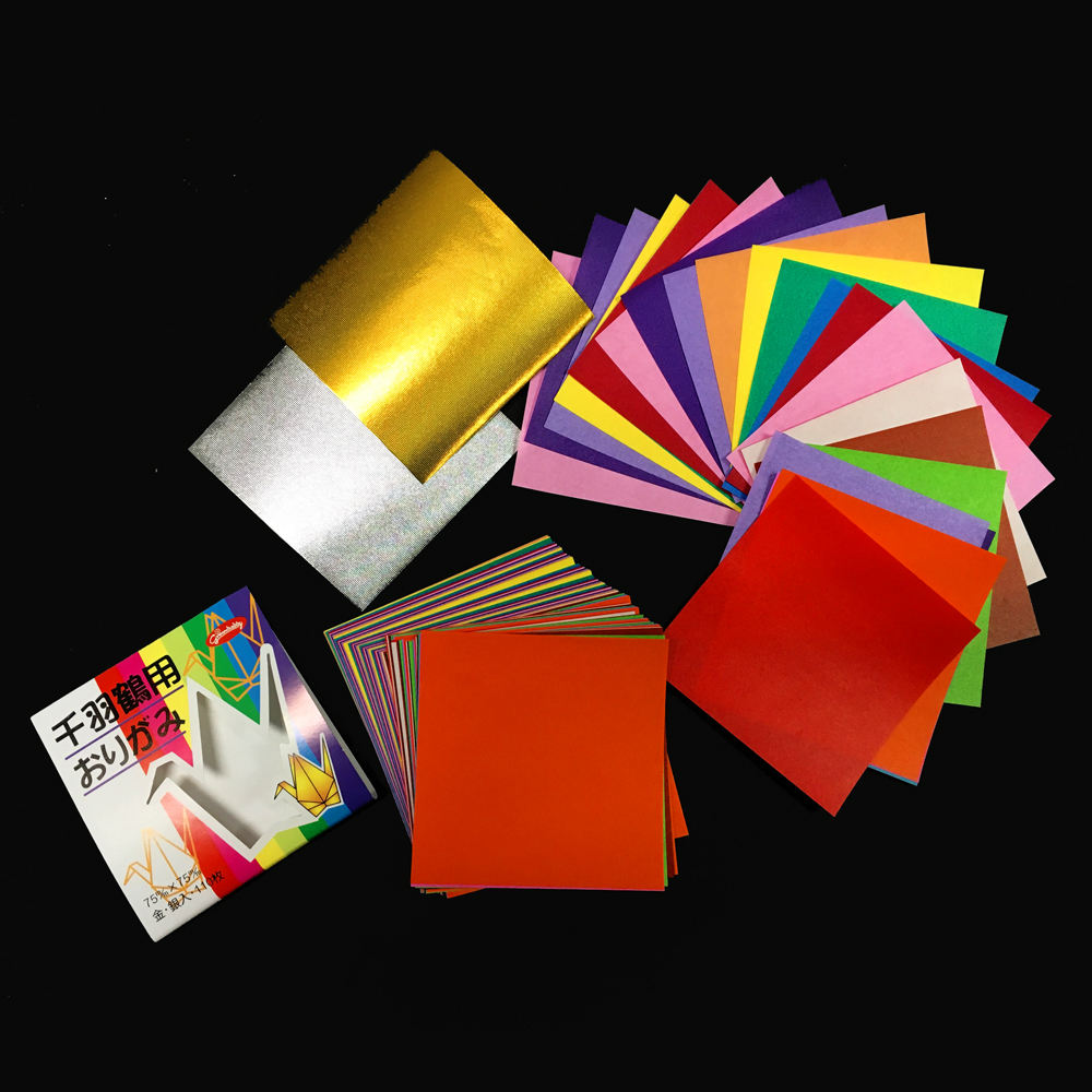 PC209 Origami Paper Assorted Solid 3x3 2015