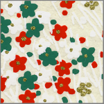 RTB9791 Holiday Blossom Washi - Hanko Designs