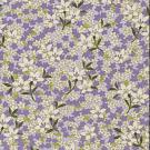 RTD7144 Floral Lavender Washi Paper - www.HankoDesigsn.com