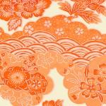 RTD7200 Orange Flowers Washi