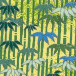 RTD7266 Green Bamboo by Hanko Designs