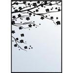 SECF010 Sakura Cherry Blossom Spring Embossing Folder - www.HankoDesigns.com - Hanko Designs