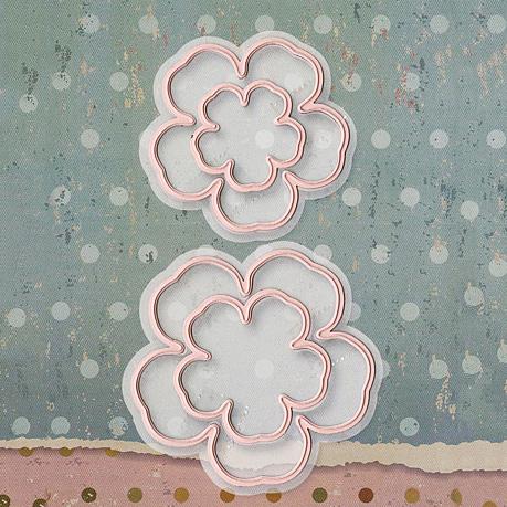 SECJ0156 Floral Dies - www.HankoDesigns.com
