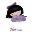 SS0066 Harumi 20 Sister Stamp - www.SisterStamps.com