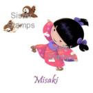 SS0065 Misaki 20 Sister Stamp - www.SisterStamps.com - Hanko Designs