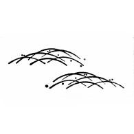HJ150 HK149 Cascading Grass - www.HankoDesigns.com