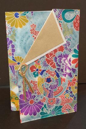 Teal Mum Panel Card - www.HankoDesigns.com 2014 Gallery Card