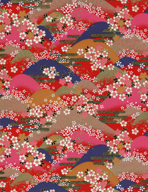 RKB8520 Washi Hills Japanese Washi Paper www.HankoDesigns.com Bulk Washi Paper
