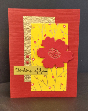 Thinking of You Layered card - www.HankoDesigns.com