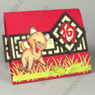 Year of the Dog - Sister Stamps - www.SisterStamps.com - Hanko Designs 2014 Handmade Card by Creations by Patti
