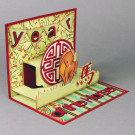 Year of the Horse handmade card by Patti Lee - Hanko Designs