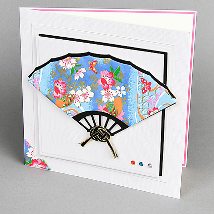 washi dimensional fan card